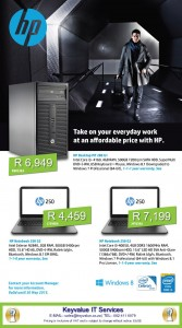 HP Desktop and Laptops image