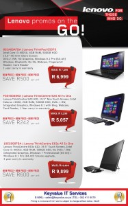 Lenovo laptop and all in one image