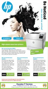 HP Enterprise printers image
