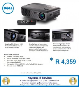 Dell 1210S Projector image