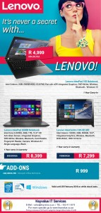 Image of Lenovo Specials