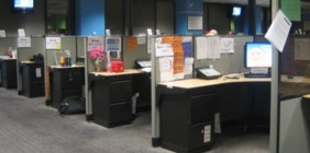 office cubicles image
